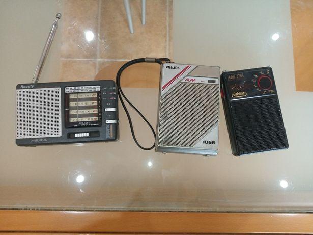Rádios de bolso antigos