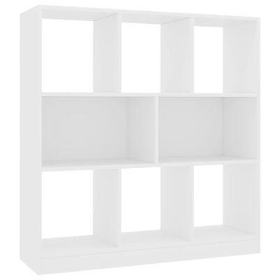 Estante 97,5x29,5x100 cm contraplacado branco - + Cores disponiveis