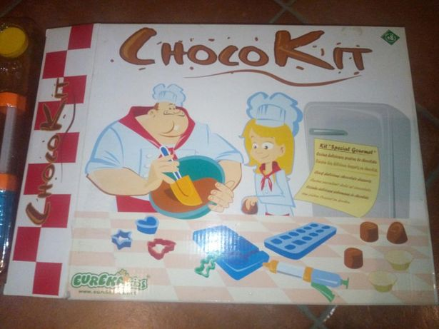 Kit confeção chocolates por estrear