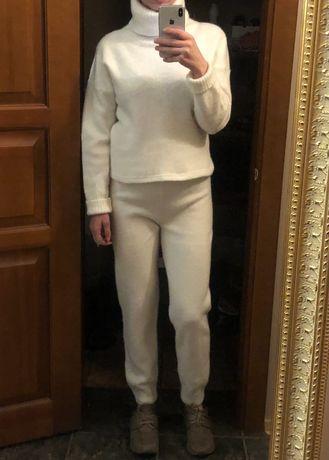 Тёплый шерстяной кашемировый костюм Massimo Dutti cos max Mara