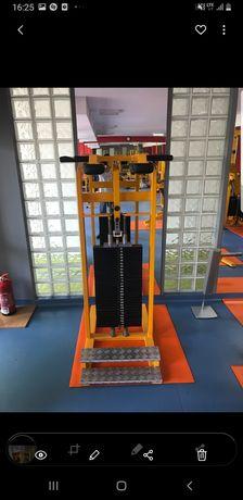 Łydkownica duży stos maszyna na nogi Arete Sport