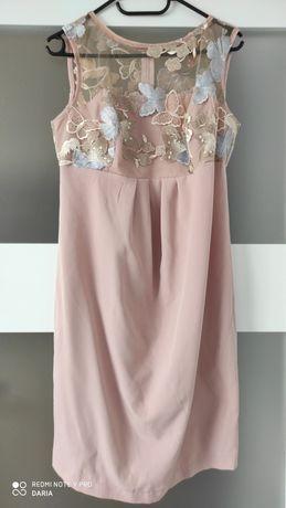 Elegancka sukienka ciążowa - ślub