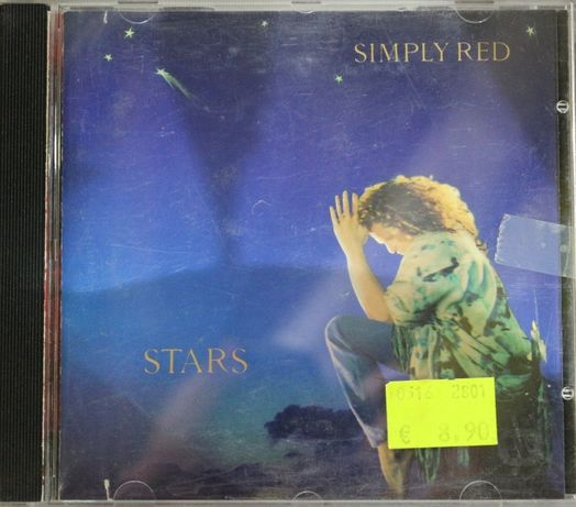 """Cd Musical """"Simply Red - Stars"""""""