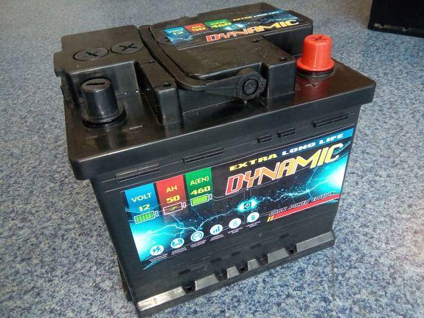 Akumulator DYNAMIC 12V 50Ah 460A Brzeziny