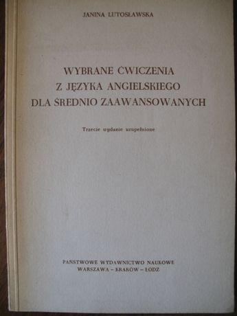 Janina Lutosławska, Wybrane ćwicz. z języka angielskiego dla średnio