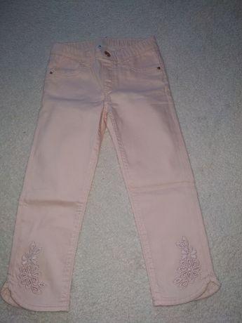 Śliczne jeansy H&M 122