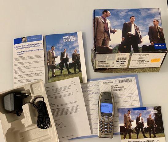 Nokia 6310i polska dystrybucja oryginalna cały zestaw