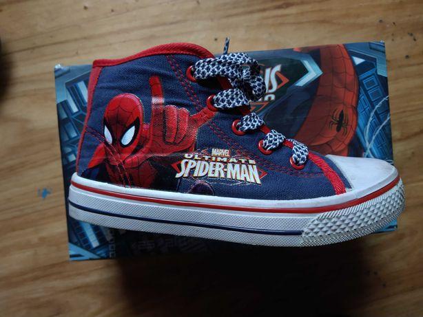 Wysokie trampki Spiderman