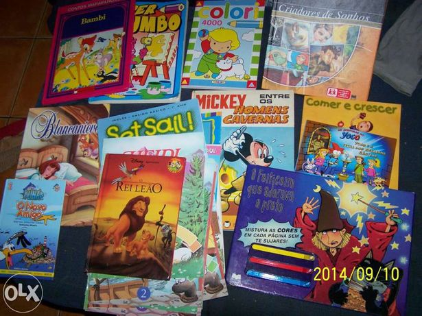 12 Livros de animação