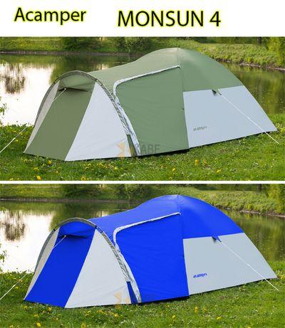 Палатка туристическая Acamper Monsun 4 проклеенные швы двухслойн