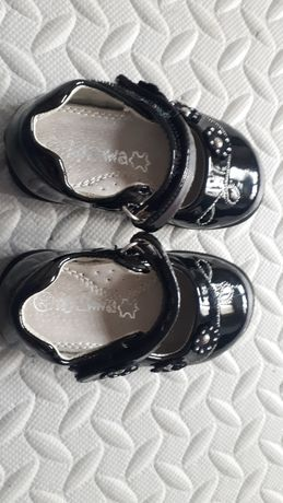 Buciki lakiernicze czarne rozmiar 20