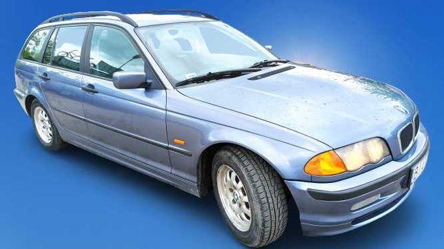 BMW E46 320 D 136 KM Kombi, skóry, sprawna klimatyzacja, OC PRAWIE ROK