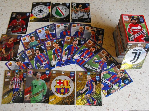 Karty 225 sztuk FIFA 365 v 2018