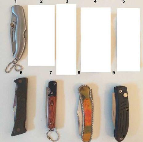 Canivetes diversos de grande qualidade
