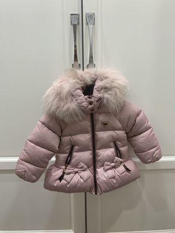 Пуховик пальто куртка зимняя детская 2 года