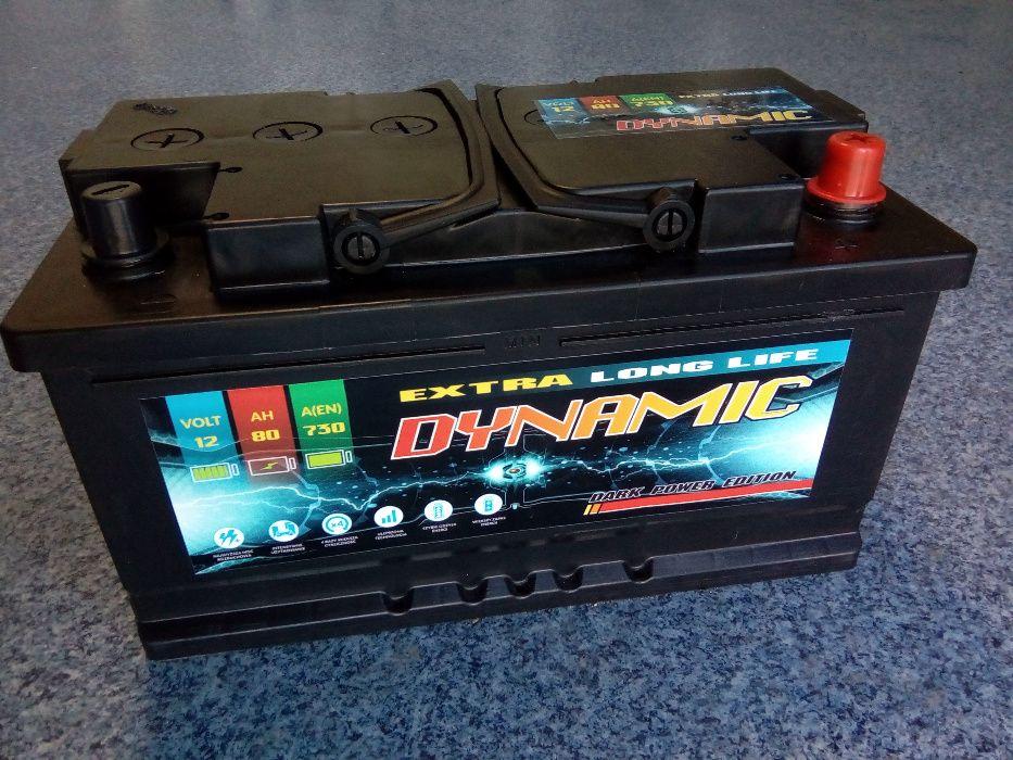 Akumulator DYNAMIC 12V 80Ah 730A Starachowice
