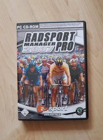 Gra komputerowa PC CD-ROM Radsport Manager 2007 Pro