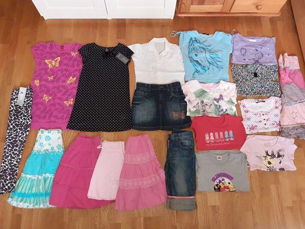 Zestaw ubranek dla dziewczynki 134/140