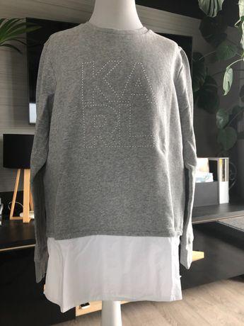 Bluza z koszulą, 2w1, Karl Lagerfeld