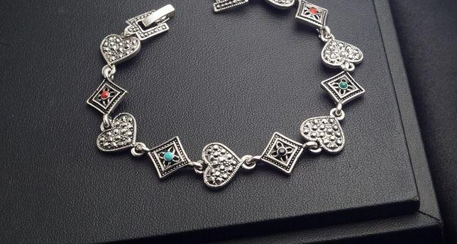 Модный женский браслет на руку стильная бижутерия