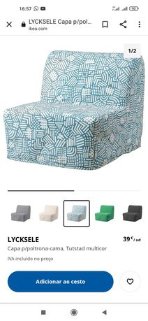 Capas p/poltrona-cama, Lycksele IKEA