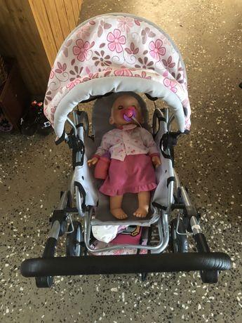 Wózek i interaktywna lalka