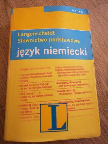 Langenscheidt. Słownictwo podstawowe język niemiecki