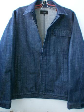 Джинсовая куртка пиджак NEXT из UK оригинал.Размер L плечи 50 см