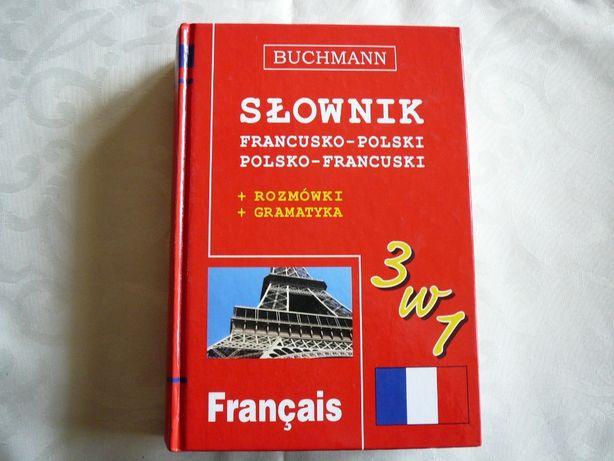 Buchmann Słownik Francusko-Polski Polsko- Francuski