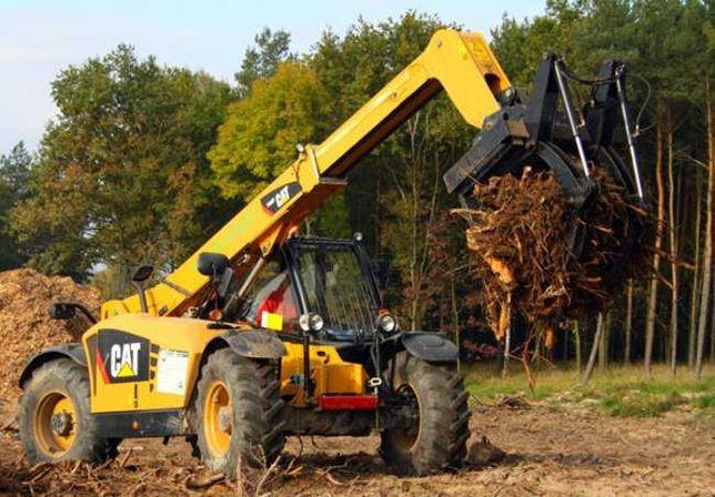 Utylizacja gałęzi i korzeni