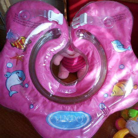 Круг для купания младенцев. От 3 до 9 месяцев.