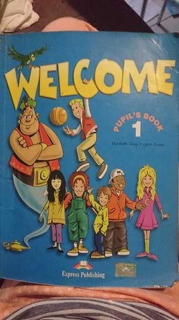 Книжка з англійськлї мови  Welcome 1і2частини