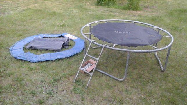 Trampolina ogrodowa 183 cm z siatką i drabinką