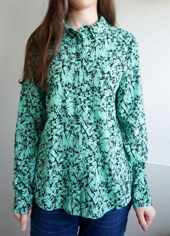 Miętowa koszula Selected Femme M