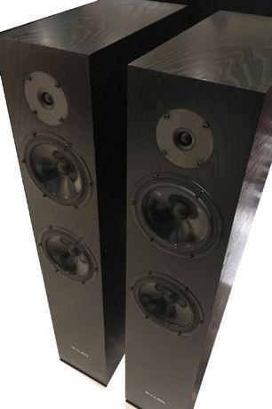 Kolumny podłogowe Pylon Diamond 28 Czarny Dąb