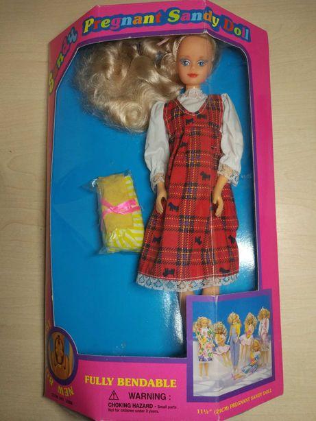 Кукла редкая Sandy беременная 90-х годов