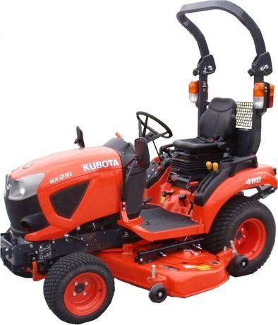 Traktorek Kubota BX231, RATY 0% 4x4,PROMOCJA! ŚLĄSK