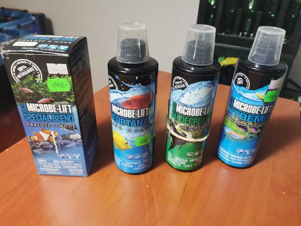 Mikrobe lift do akwarium- herbtana, PH decrease, Special blend, Xtreme