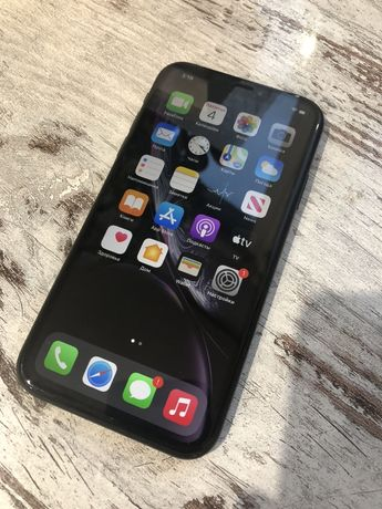 Apple iPhone XR 64Gb Black Neverlock