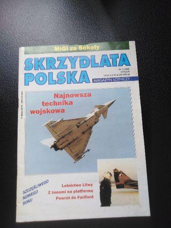 Skrzydlata Polska nr 1/1996, Magazyn lotniczy