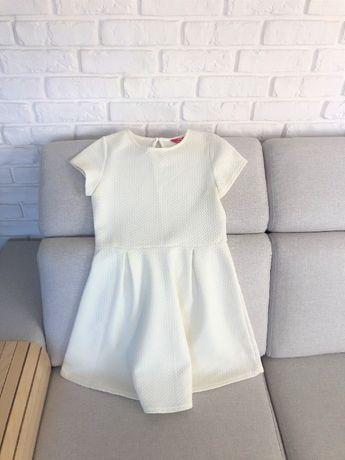 Sukienka dla dziewczynki 11-12 lat,ecru