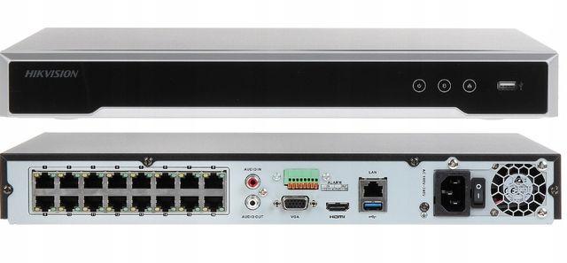 Rejestrator HIKVISION DS-7616NI-K2/16P POE HDMI 4K