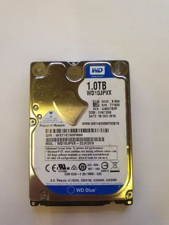 Dysk 1TB 100GB WD Mało Używany