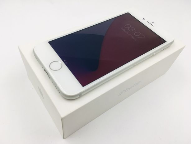 iPhone 7 32GB SILVER • GWAR 12 msc • DARMOWA wysyłka • FAKTURA