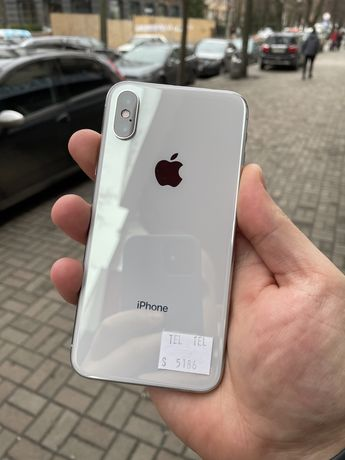 Магазин iphone XS 256gb Silver Neverlock Хороший Стан!