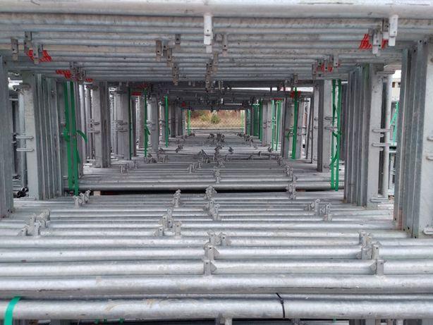 Plettac rusztowanie rusztowania Baumann zestaw 500m2 szalunki budow