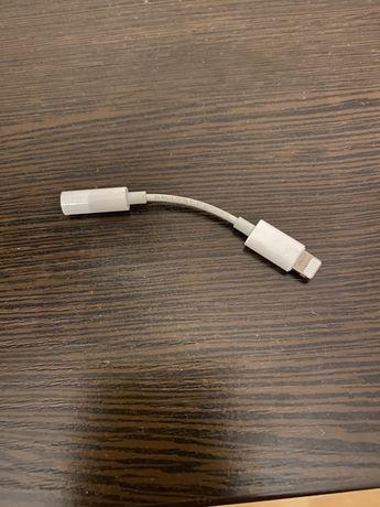 Переходник для iPhone для наушников. Оригианальный apple