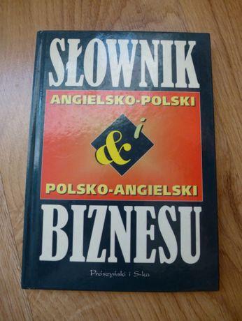 Słownik biznesu ang.-polski i polsko-ang. sztywna oprawa