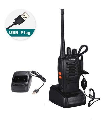 Рація, Радіостанція Baofeng BF-888S до 5Вт 16 каналів з гарнітурою
