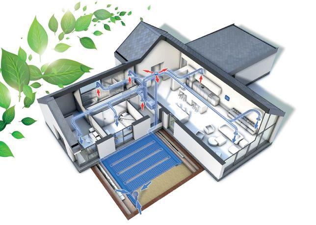GWC Pro-Vent GEO-Natura od 300 m³/h do 2000 m³/h, polski producent